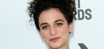Jenny Slate in Luisa Beccaria at the Spirit Awards: overdressed or cute?