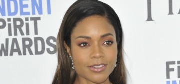 Naomie Harris wore a nothingburger Chanel for Moonlight's Spirit Award sweep