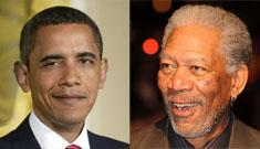 Morgan Freeman: Pres. Obama 'can lose the Chicago strut'