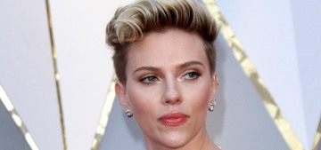 Scarlett Johansson in Azzedine Alaia at the Oscars: lovely or nope?