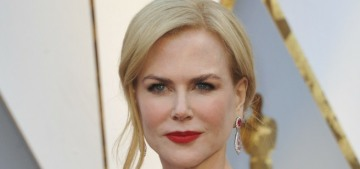 Nicole Kidman apparently claps like a madwoman, or the Grinch