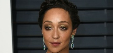 Ruth Negga in Oscar de la Renta at the VF party: better than her Oscar dress?
