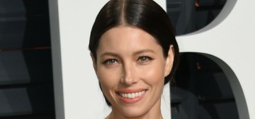 Jessica Biel in Ralph Lauren at the VF Oscar party: tedious or fine?