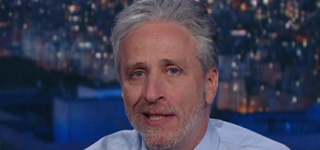 Jon Stewart tells the media to 'stop your whining' about Donald Trump