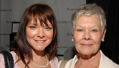 """Judi Dench and her daughter are stacked"" links, 3/10"