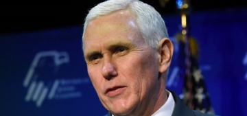 But his emails: Mike Pence used an unsecure AOL email account as governor