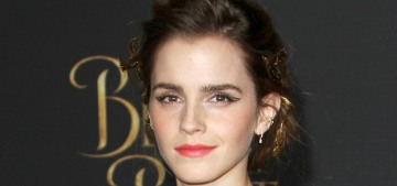 Emma Watson killed it in an Oscar de la Renta jumpsuit for LA 'Beauty' premiere