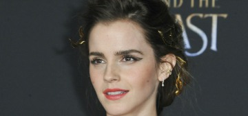 Emma Watson loves freckles, natural deodorant, baths & toenail polish