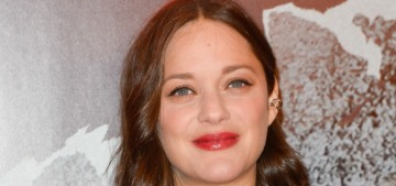 Did Marion Cotillard get lip injections or does she just have 'pregnant lips'?