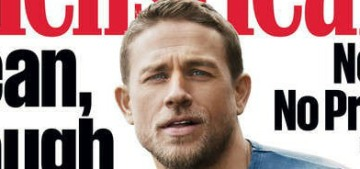 Charlie Hunnam 'tries to make love as often as I can,' for fitness purposes