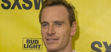 Michael Fassbender looked really great at SXSW: has he regained his hot?