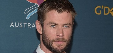 """Please enjoy Chris Hemsworth's amazing workout grunts"" links"