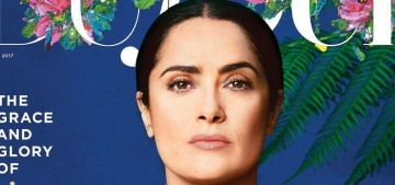 Salma Hayek on Trump: 'It's like a parallel universe of disinformation'