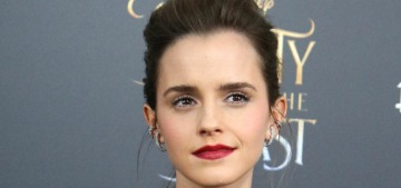Emma Watson in Christopher Kane at the NY 'Beauty' premiere: cute or meh?