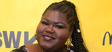 Gabourey Sidibe has parts written for her where she's called 'hippo' & 'elephant'