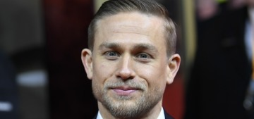 Charlie Hunnam is a 'germophobe' who only wants to kiss his girlfriend