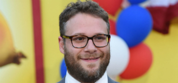 Seth Rogan: 'It's very important to normalize dissent' in the Trump era