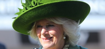 Duchess Camilla & other royal women got into a hat-off at Cheltenham