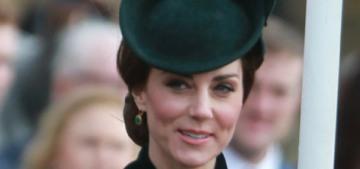Prince William & Kate did the Irish Guards-shamrock thing with no drama
