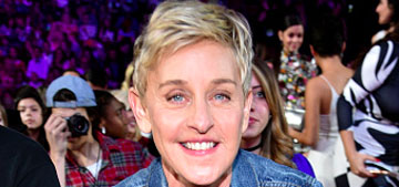 Ellen DeGeneres dislocated her finger after two glasses of wine