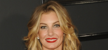 Faith Hill on aging: 'I'm OK with having lines. I'm almost 50′
