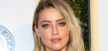 Amber Heard encourages 'every gay man' in Hollywood to come out