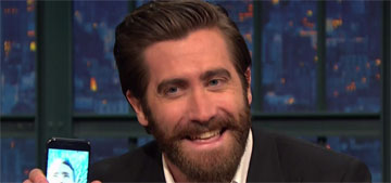 Jake Gyllenhaal facetimed Ryan Reynolds while he was on Late Night