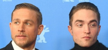 Robert Pattinson barely spoke to Charlie Hunnam while filming 'City of Z'