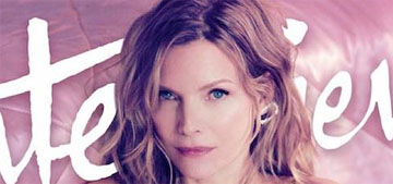 Michelle Pfeiffer worries that 'one day they're going to find out I'm a fraud'
