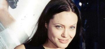Angelina Jolie volunteered to do drug tests before & during 'Lara Croft'