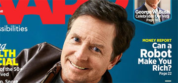 Michael J. Fox covers AARP Magazine: 'I can't stop laughing at my own symptoms'