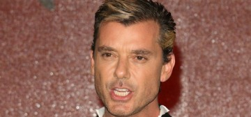 Surprise: Gavin Rossdale, 51, made out with a 27-year-old German model