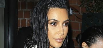 Kim Kardashian in a bridal Riccardo Tisci gown: moldy or fabulous?
