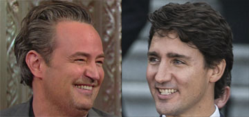 Justin Trudeau vs. Matthew Perry: The Grudge Match