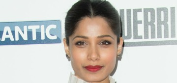 Freida Pinto is the lead in a series about black-power in '70s London, yikes