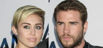 Miley Cyrus & Liam Hemsworth hiked with their dogs, probably aren't married