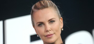 Charlize Theron in Dior at the NY 'Furious' premiere: tacky or cute?