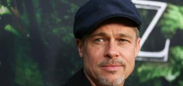 Page Six: Brad Pitt & Sienna Miller were getting flirty in LA last week