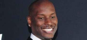 Tyrese has some fascinating thoughts about 'sluts, skeezers, hoes & tramps'