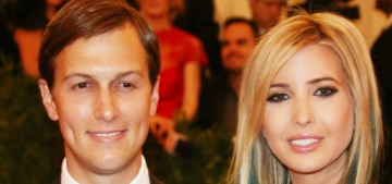 Ivanka Trump & Jared Kushner are too busy to attend this year's Met Gala
