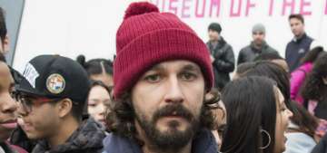 Shia LaBeouf is alone in a cabin in Finland texting museum patrons