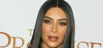 Kim Kardashian attended the premiere for Armenian-genocide film 'The Promise'