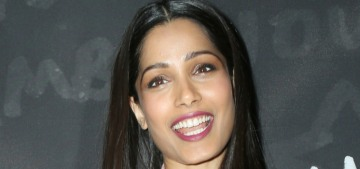Freida Pinto met with a Black Panther activist to prepare for 'Guerrilla'