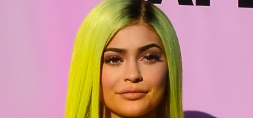 Kylie Jenner looked sort of like a blank blow-up doll at Coachella this year
