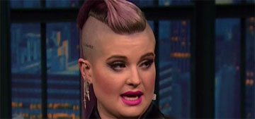 Kelly Osbourne: in gay relationships 'there's always a masculine & feminine role'