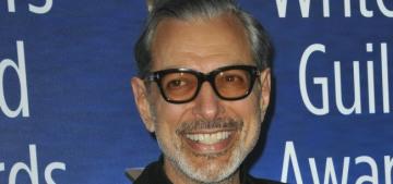 """Jeff Goldblum now has two sons named Charlie Ocean & River Joe"" links"
