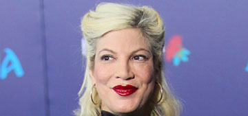 Tori Spelling: 'I have a house fetish, we're on the hunt for a big home'