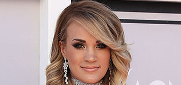 Carrie Underwood sang the National Anthem before husband's playoff game