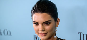 Kendall Jenner in a plunging gown at Harper's Bazaar event: striking or overdone?