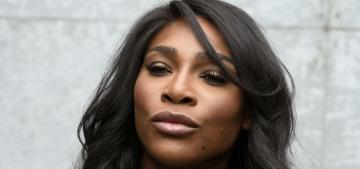 Serena Williams' pregnancy will 'humanize' her & make her more marketable?